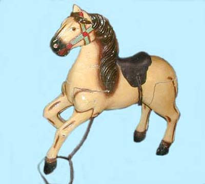 Imported carousel horse